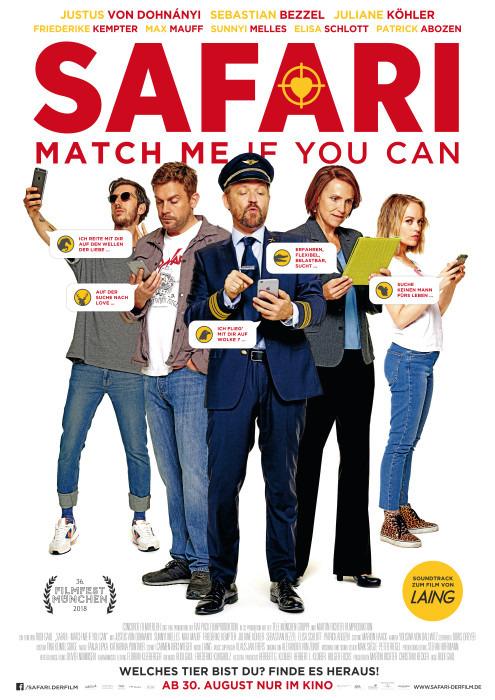 "Filmplakat zu ""Safari - Match Me If You Can"" | Bild: Concorde"