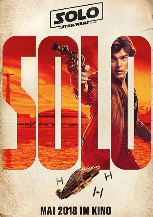 "Filmplakat zu ""Solo: A Star Wars Story"" | Bild: Disney"