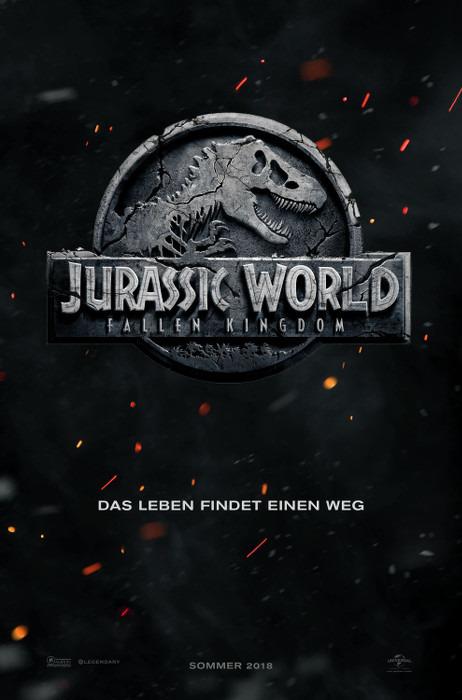 "Filmplakat zu ""Jurassic World 2"" | Bild: UPI"