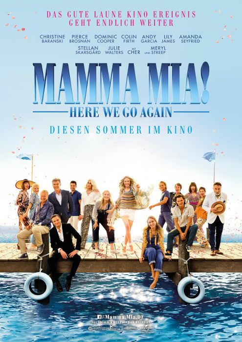 "Filmplakat zu ""Mamma Mia 2"" | Bild: UPI"