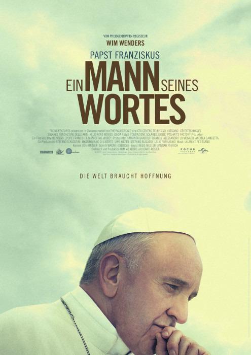 """Filmplakat zu """"Papst Franziskus - Ein Mann seines Wortes""""   Bild: UPI"""