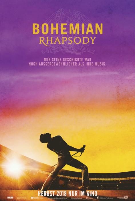 "Filmplakat zu ""Bohemian Rhapsody"" | Bild: Fox"