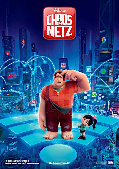 "Filmplakat zu ""Chaos im Netz"" | Bild: Disney"