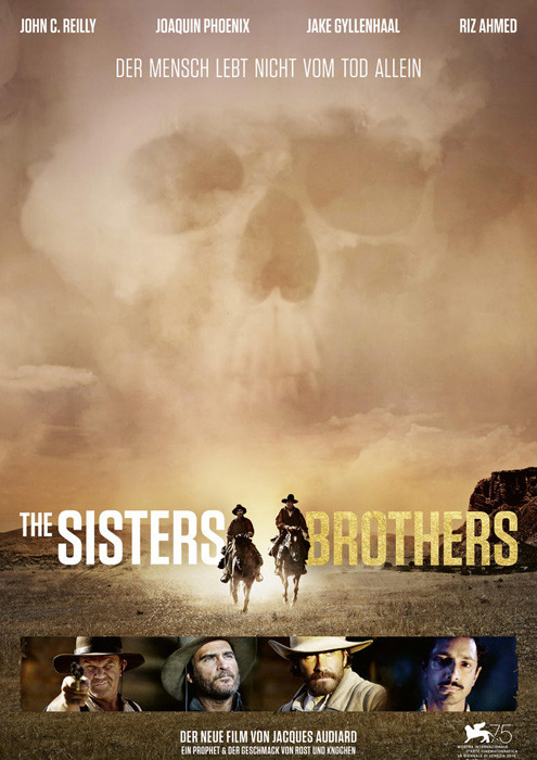 """Filmplakat zu """"The Sisters Brothers"""" 