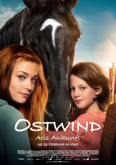 """Filmplakat zu """" Ostwind - Aris Ankunft """"   Bild: Constantin"""