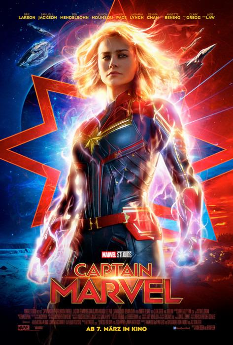 "Filmplakat zu ""Captain Marvel""   Bild: Disney"