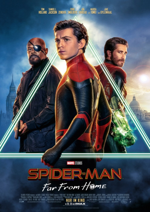 "Filmplakat zu ""Spider-Man: Far From Home"" 