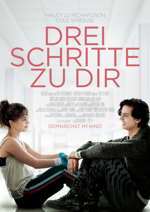 "Filmplakat zu ""Drei Schritte zu Dir"" | Bild: Universal"