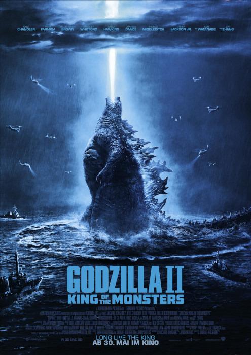 "Filmplakat zu ""Godzilla 2: King of the Monsters"" | Bild: Warner"