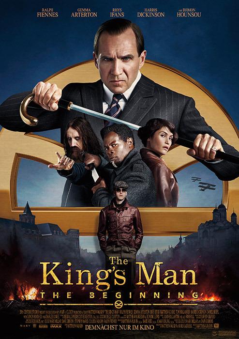 "Filmplakat zu ""The King's Man - The Beginning"" | Bild: Disney"