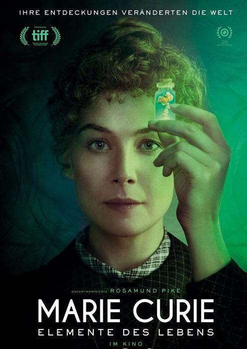 "Filmplakat zu ""Marie Curie - Elemente des Lebens"" | Bild: StudioCanal"