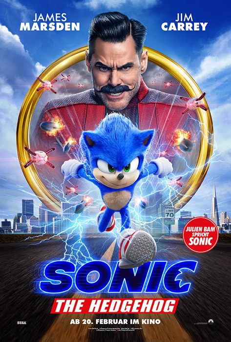 "Filmplakat zu ""Sonic the Hedgehog"" | Bild: Paramount"