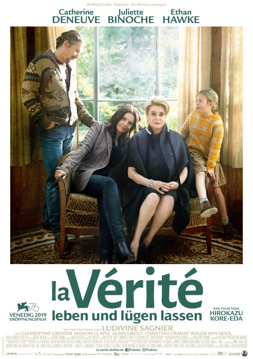 "Filmplakat zu ""La V�rit� - Leben und l�gen lassen"" | Bild: StudioCanal"