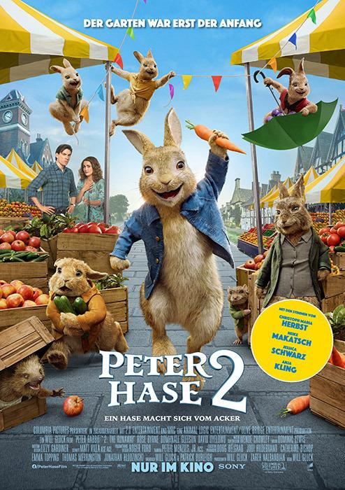 "Filmplakat zu ""Peter Hase 2"" | Bild: Sony"
