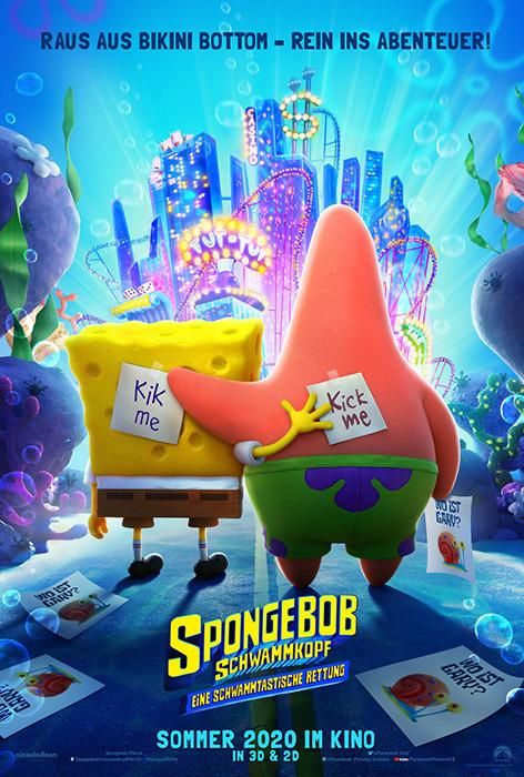 "Filmplakat zu ""SpongeBob Schwammkopf"" | Bild: Paramount"
