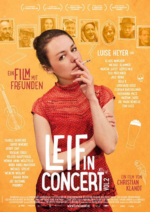 "Filmplakat zu ""Leif in Concert - Vol. 2 "" | Bild: Camino"