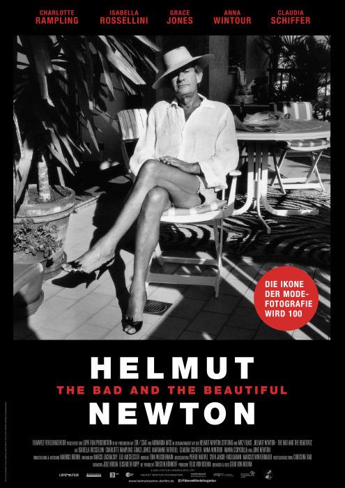 "Filmplakat zu ""Helmut Newton: The Bad and the Beautiful"" | Bild: Filmwelt"