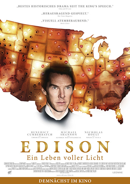 "Filmplakat zu ""Edison"" | Bild: Leonine"