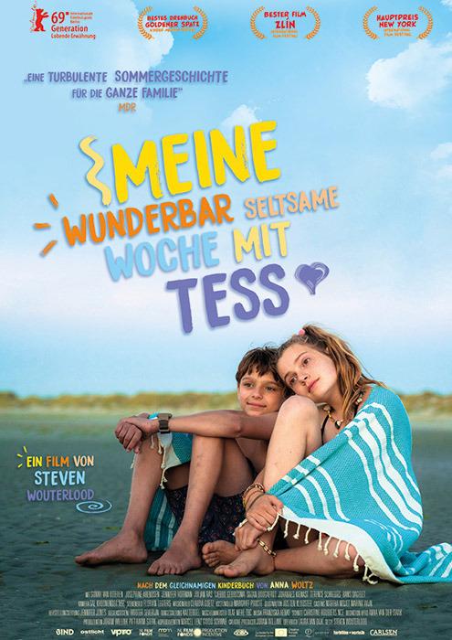 """Filmplakat zu """"Meine wunderbar seltsame Woche mit Tess""""   Bild: Farbfilm"""