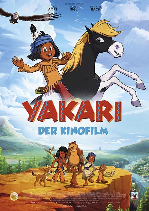 """Filmplakat zu """"Yakari""""   Bild: Leonine"""