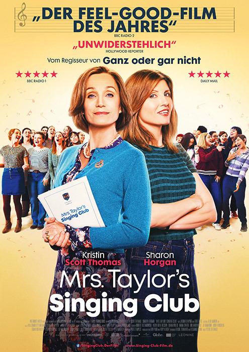 "Filmplakat zu ""Mrs. Taylor's Singing Club"" | Bild: Leonine"