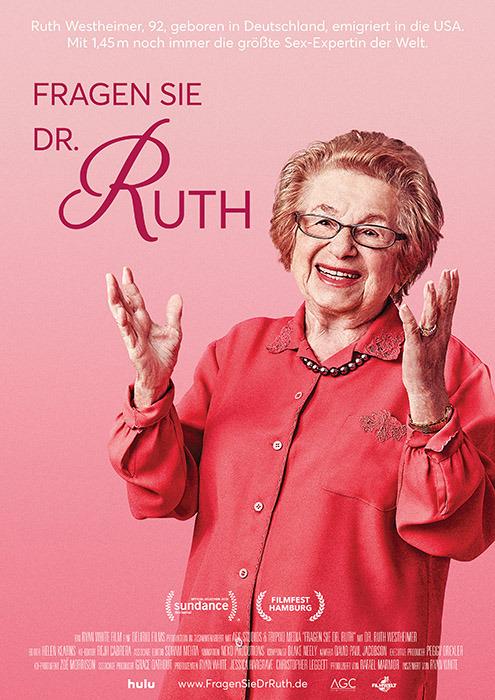 """Filmplakat zu """"Fragen Sie Dr. Ruth""""   Bild: Filmwelt"""
