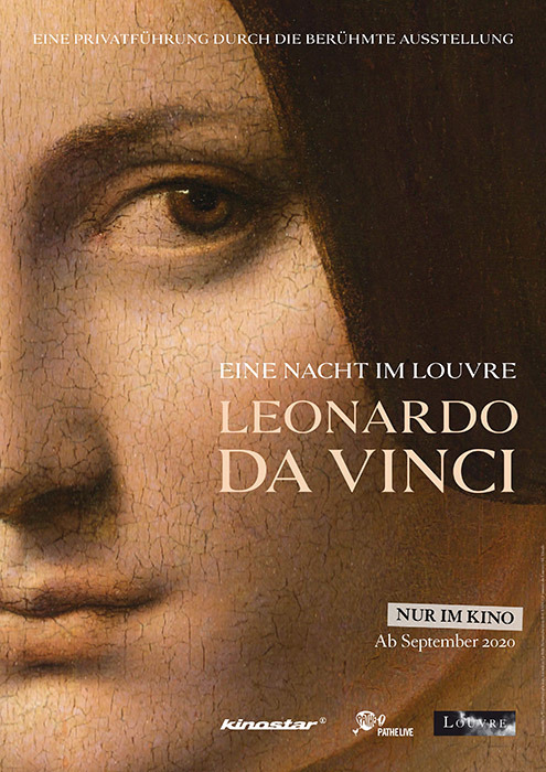 "Filmplakat zu ""Eine Nacht im Louvre: Leonardo Da Vinci""   Bild: Kinostar"