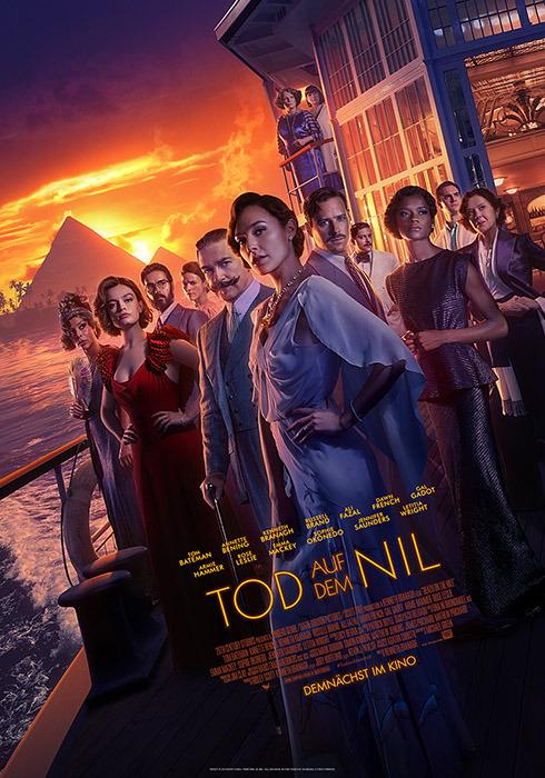 "Filmplakat zu ""Tod auf dem Nil"" | Bild: Disney"