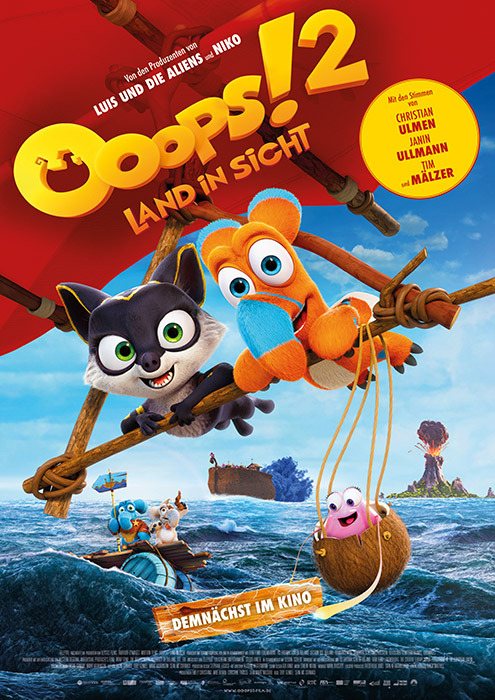 "Filmplakat zu ""Ooops! 2 - Land in Sicht"" 