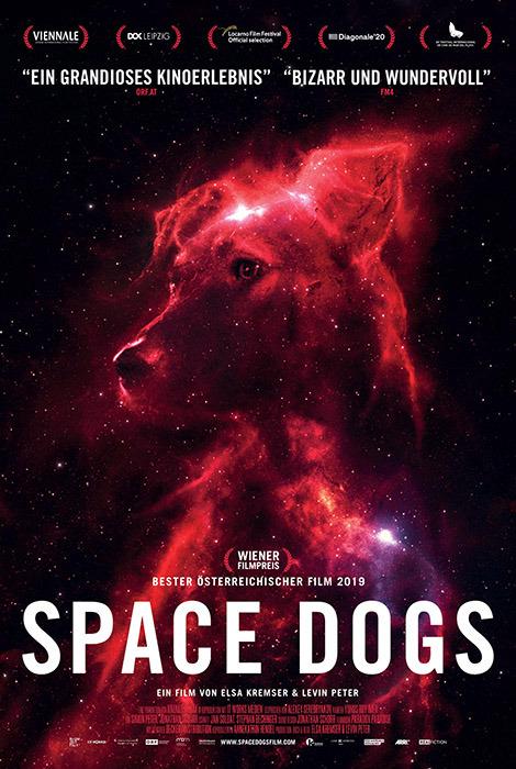 "Filmplakat zu ""Space Dogs"" | Bild: Real Fiction"