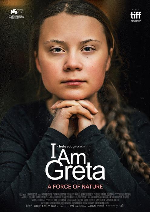 "Filmplakat zu ""I am Greta"" | Bild: Filmwelt"
