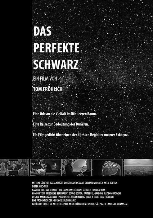 """Filmplakat zu """"Das perfekte Schwarz""""   Bild: FilmKinoText"""