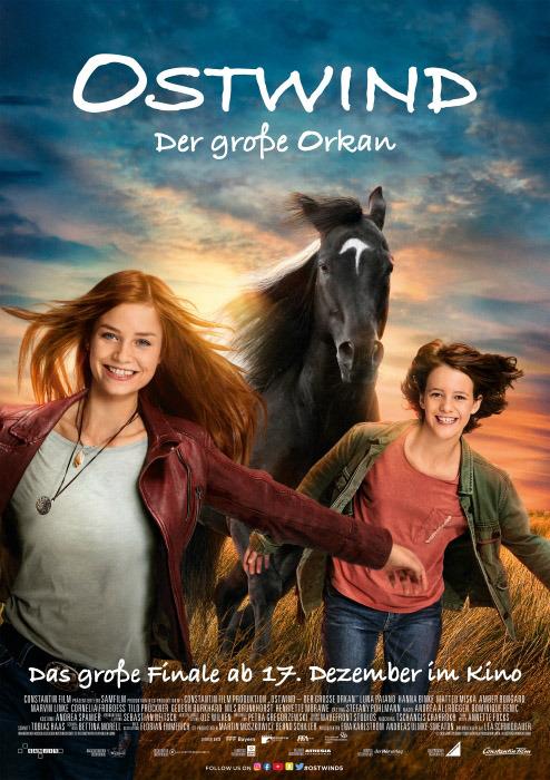 "Filmplakat zu ""Ostwind - Der große Orkan"" | Bild: Constantin"
