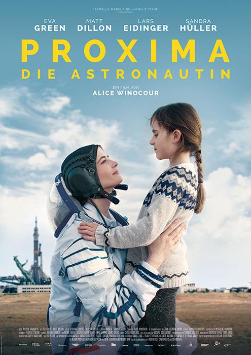 "Filmplakat zu ""Proxima - Die Astronautin""   Bild: Koch"