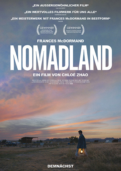 "Filmplakat zu ""Nomadland"" | Bild: Disney"