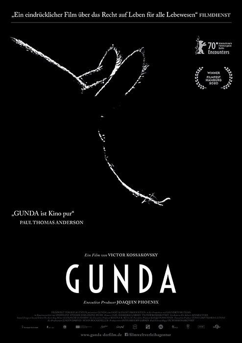"Filmplakat zu ""Gunda"" | Bild: Filmwelt"