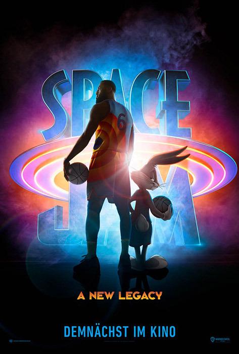 """Filmplakat zu """"Space Jam""""   Bild: Warner"""