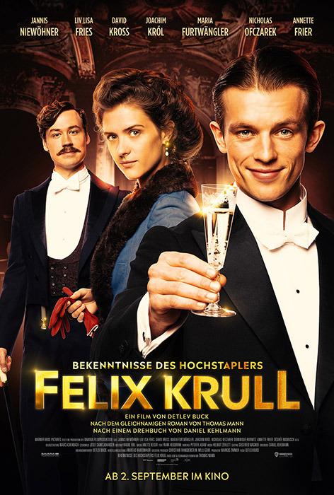 "Filmplakat zu ""Bekenntnisse des Hochstaplers Felix Krull"" | Bild: Warner"