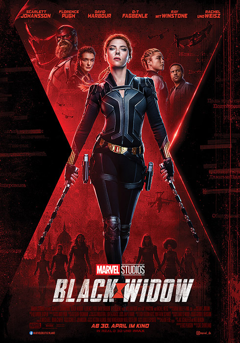 "Filmplakat zu ""Black Widow"" | Bild: Disney"