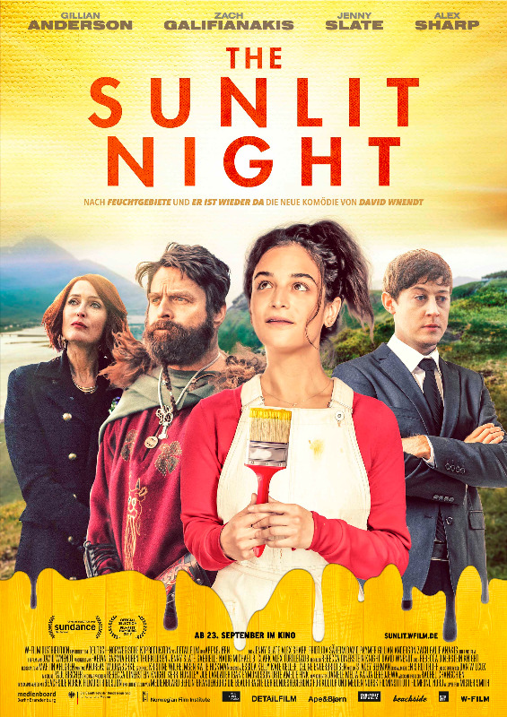 "Filmplakat zu ""The Sunlit Night""   Bild: W-Film"