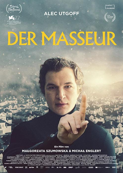 "Filmplakat zu ""Der Masseur"" | Bild: RealFiction"