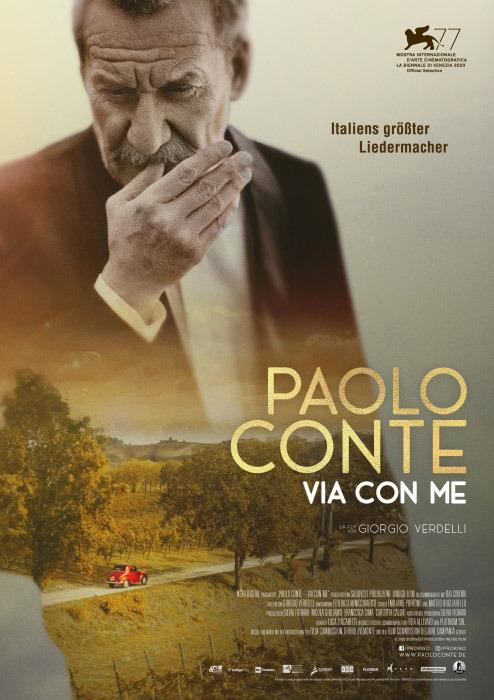 "Filmplakat zu ""Paolo Conte"" | Bild: StudioCanal"