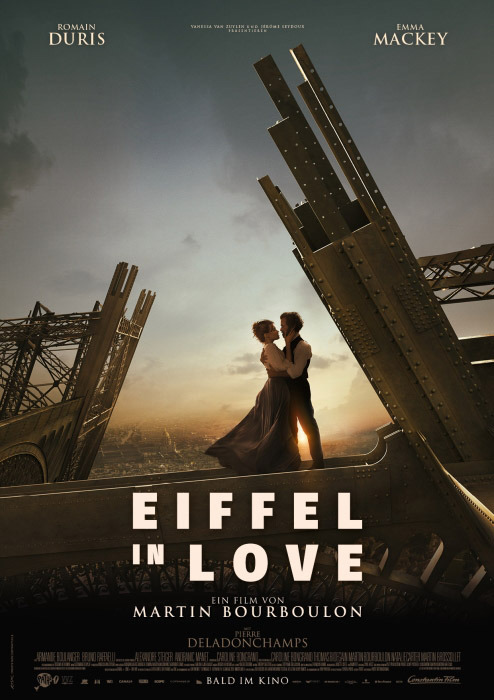 """Filmplakat zu """"Eiffel in Love""""   Bild: Constantin"""