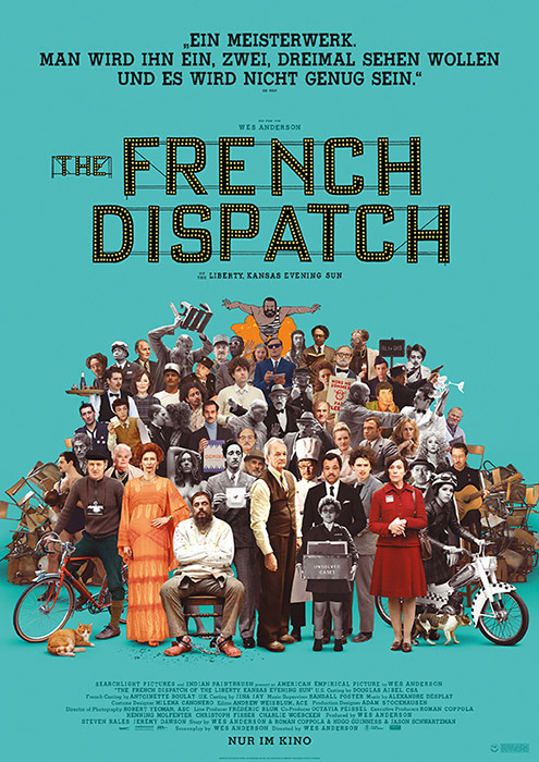 "Filmplakat zu ""The French Dispatch"" | Bild: Disney"
