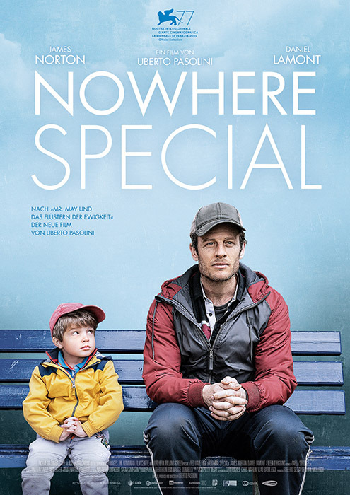 "Filmplakat zu ""Nowhere Special""   Bild: Piffl"