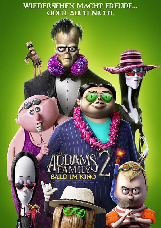 """Filmplakat zu """"Die Addams Family 2""""   Bild: Universal"""
