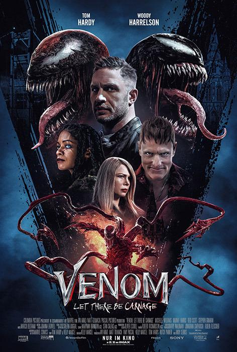"Filmplakat zu ""Venom: Let There Be Carnage"" | Bild: Sony"