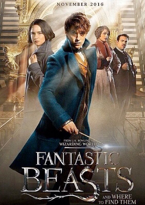 "Filmplakat zu ""Fantastic Beasts and Where to Find Them"" | Bild: Warner"