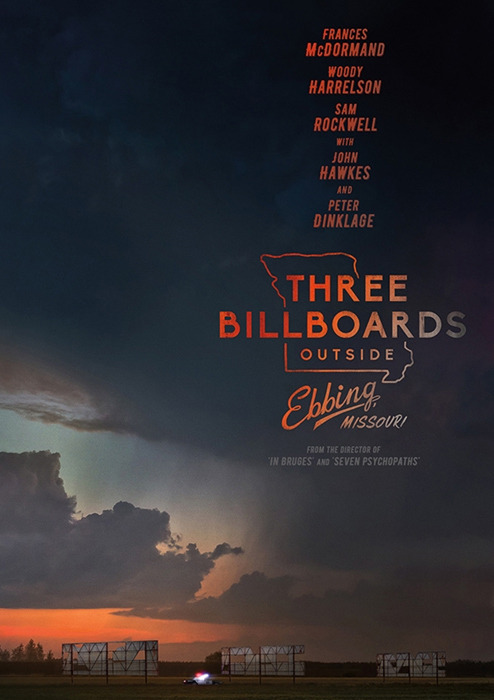 "Filmplakat zu ""Three Billboards Outside Ebbing, Missouri"" 